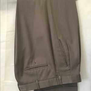 PERRY ELLIS MENS CLASSIC PLEATED DRESS PANTS 32x30